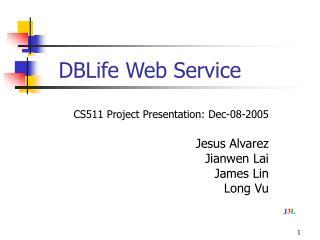 DBLife Web Service