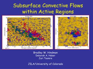 Subsurface Convective Flows within Active Regions