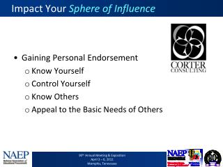 Impact Your  Sphere of Influence
