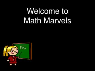 Welcome to  Math Marvels