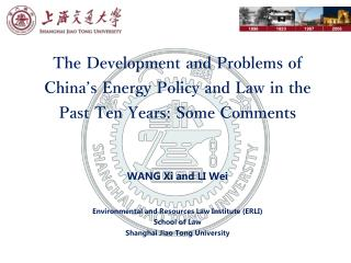Energy Development in the Past Ten Years