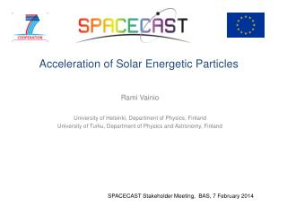 Acceleration of Solar Energetic Particles