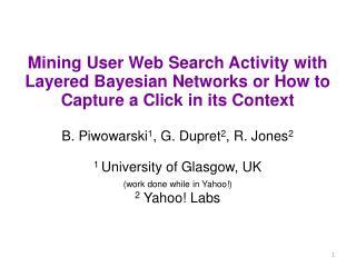 Web search logs