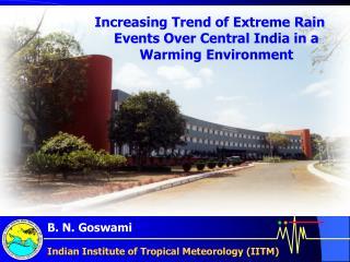 Indian Institute of Tropical Meteorology (IITM)