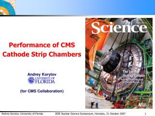 Performance of CMS  Cathode Strip Chambers