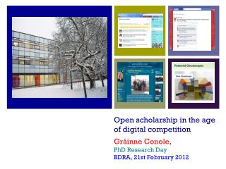 Open scholarship in the age of digital competition