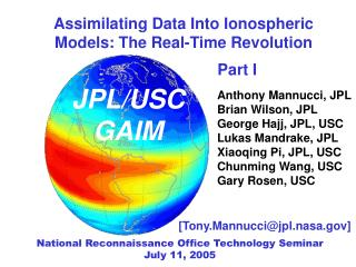 Assimilating Data Into Ionospheric Models: The Real-Time Revolution