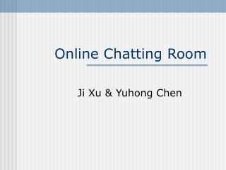 Online Chatting Room