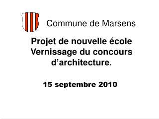 Projet de nouvelle  cole Vernissage du concours  d architecture.