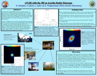 E. Momjian, T. Ghosh, C. Salter, & A. Venkataraman (NAIC-Arecibo Observatory)