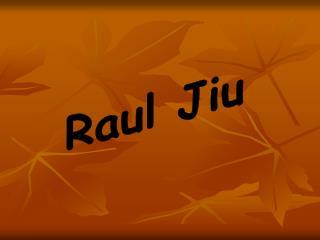 Raul Jiu