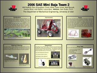 2006 SAE Mini Baja Team 2