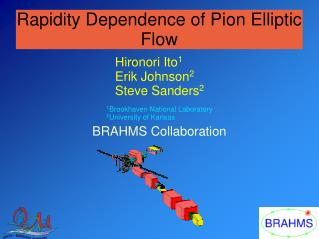 Rapidity Dependence of Pion Elliptic Flow