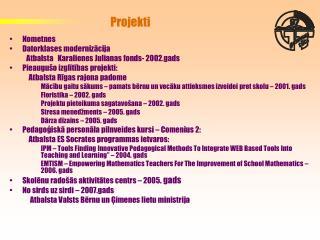 Projekti