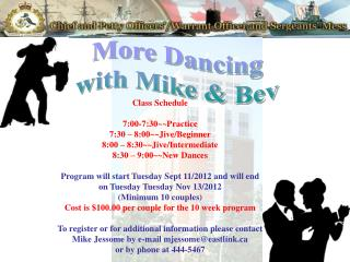 More Dancing with Mike & Bev