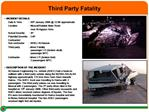 Third Party Fatality