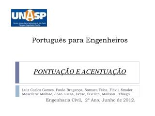Português para Engenheiros