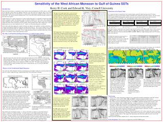 Sensitivity of the West African Monsoon to Gulf of Guinea SSTs