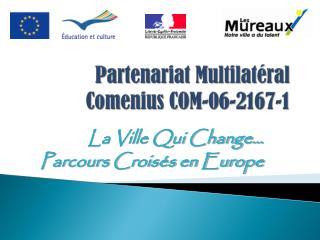 Partenariat Multilatéral Comenius COM-06-2167-1