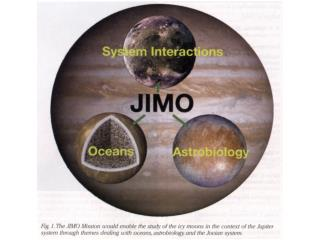 JUPITER ICY MOONS ORBITER ( JIMO ) CONCEPT