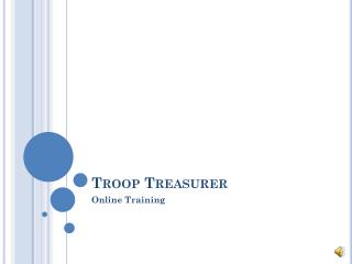 Troop Treasurer