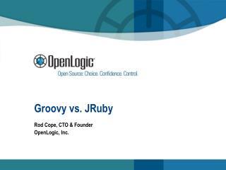 Groovy vs. JRuby