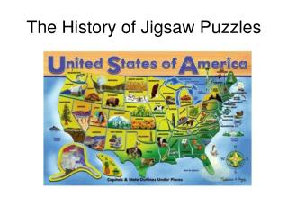 The History of Jigsaw Puzzles