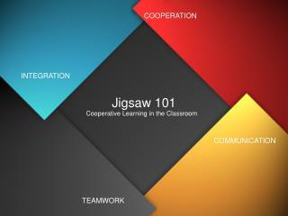 Jigsaw 101