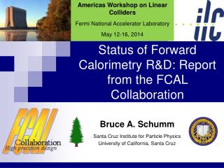 Status of Forward Calorimetry R&D: Report from the FCAL Collaboration