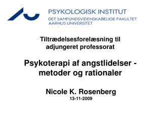 Nicole K. Rosenberg 13-11-2009
