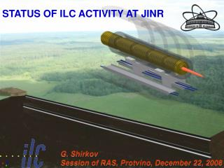 STATUS OF ILC ACTIVITY AT JINR
