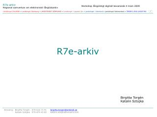R7e-arkiv
