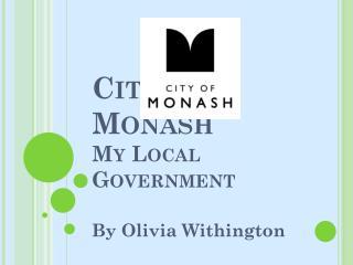City of Monash My Local Government