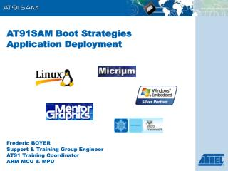 AT91SAM Boot Strategies Application Deployment