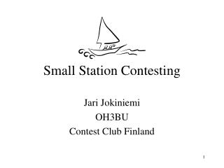 Small Station Contesting