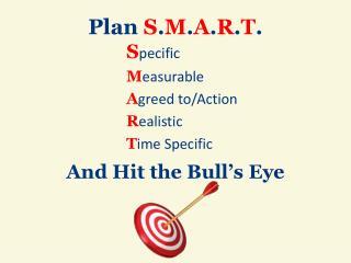 Plan S . M . A . R . T .