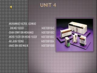 Unit 4
