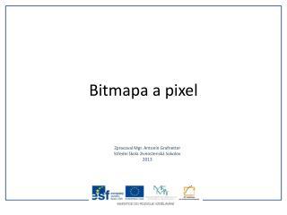 Bitmapa a pixel