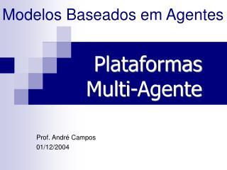 Modelos Baseados em Agentes