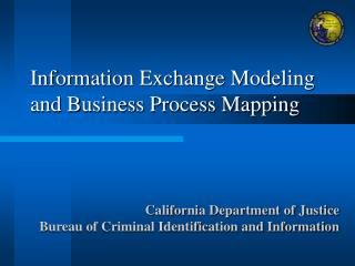 Information Exchange Modeling and Business Process Mapping