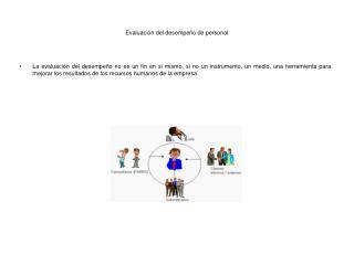 Evaluación del desempeño de personal