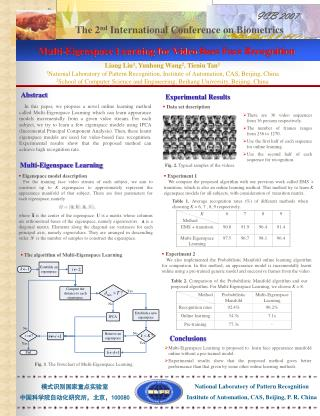 Multi-Eigenspace Learning for Video-Base Face Recognition