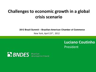 Challenges to economic growth in a global crisis scenario