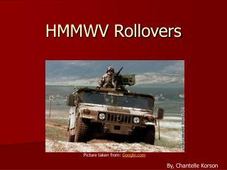 HMMWV Rollovers