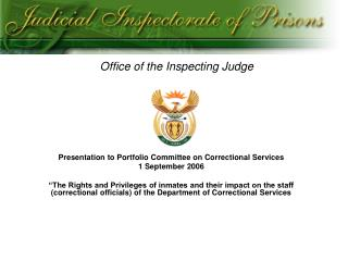 Office of the Inspecting Judge