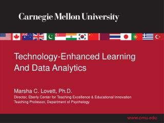 Technology-Enhanced Learning And Data Analytics