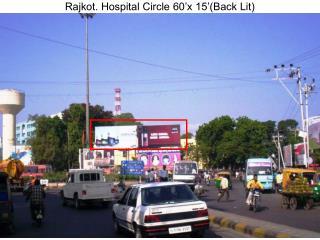 Rajkot. Hospital Circle 60'x 15'(Back Lit)