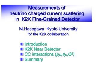 Measurements of  neutrino charged current scattering   in  K2K Fine-Grained Detector