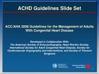 ACHD Guidelines Slide Set