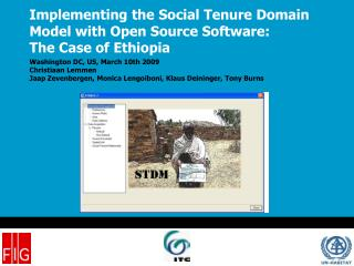 Implementing the Social Tenure Domain Model with Open Source Software: